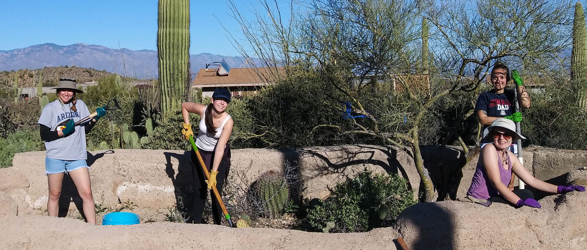 Campus Outreach Team - Cooper Center for Environmental Learning in Tucson Arizona