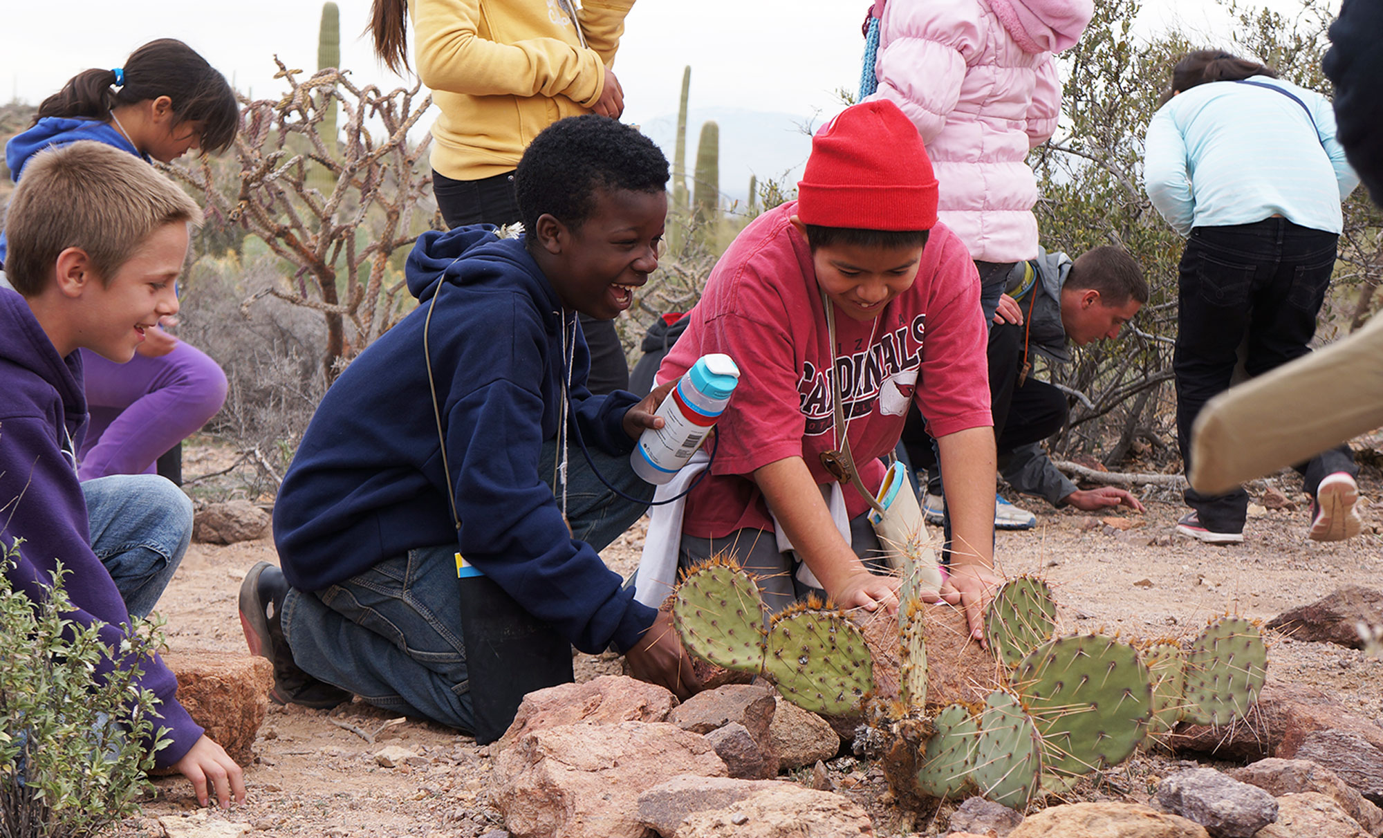 Earthkeepers Program - Cooper Center for Environmental Learning in Tucson Arizona